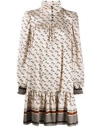 Altea Horse Print Dress - Multicolour