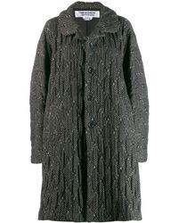 Comme des Garçons Oversized Coat - Black