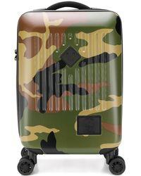 Herschel Supply Co. Maleta de ruedas con motivo militar - Verde
