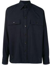 Marni ダブルポケット シャツ - ブルー