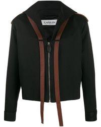 Lanvin フィッシャーマン ジャケット - ブラック