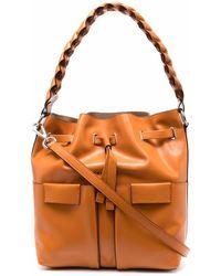 Orciani Liberty Tote Bag - Brown