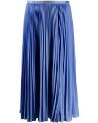 Polo Ralph Lauren プリーツ スカート - ブルー