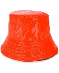 Manokhi Bucket Hoed - Oranje