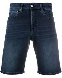 Calvin Klein デニムショートパンツ - ブルー
