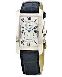 Cartier タンク アメリカン 26mm - ホワイト