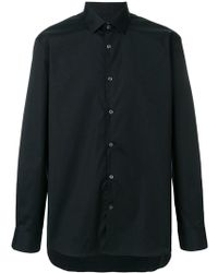 John Varvatos - Plain Shirt - Lyst