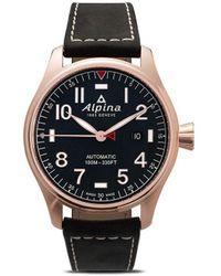 Alpina Наручные Часы Startimer Pilot Chronograph 44 Мм - Синий