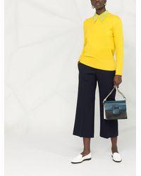 Victoria Beckham Pantalones capri - Azul