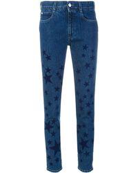 Stella McCartney Kick Star スキニージーンズ - ブルー