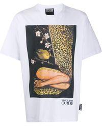 Versace Jeans Couture Футболка Из Коллаборации С Rosa Burgess - Белый