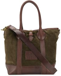 Polo Ralph Lauren Burnished Trim Tote - Green