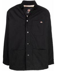 Dickies Construct Jacke mit aufgesetzter Brusttasche - Schwarz