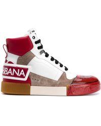 Dolce & Gabbana Высокие Кроссовки Miami - Белый