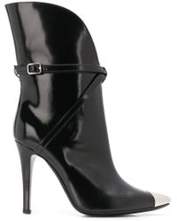 Philosophy Di Lorenzo Serafini - Metallic Toe-capped Boots - Lyst