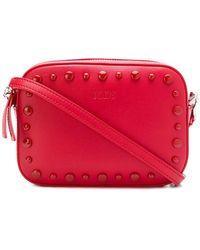 Tod's Studded Belt Bag - Red