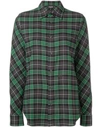 DSquared² - Checked Longsleeved Shirt - Lyst