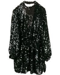 MSGM - Vestido corto con lentejuelas - Lyst