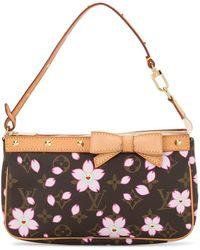 Louis Vuitton X Takashi Murakami 2003 Pre-owned Monogram Accessories Handbag - Brown