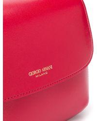 Giorgio Armani Сумка На Плечо С Логотипом - Красный