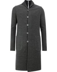 Label Under Construction - Single Breasted Coat - Lyst