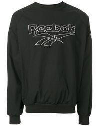 Reebok - Logo Sweatshirt - Lyst