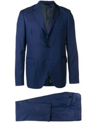 Mp Massimo Piombo André Two-piece Formal Suit - Blue
