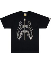 A Bathing Ape T-shirt con stampa - Nero