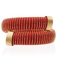 Carolina Bucci - Silver-plated Gold Caro Bracelet - Lyst