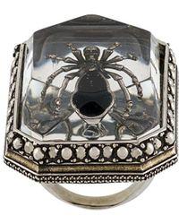 Alexander McQueen - Beetle リング - Lyst