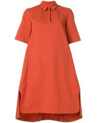 Carven - Collared Shift Dress - Lyst