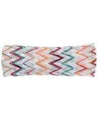 Missoni Crochet-knit Headband - Blue