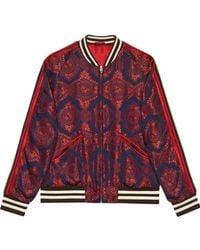 Gucci - Baroque Jacquard Bomber Jacket - Lyst