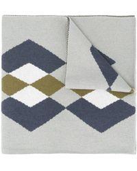 Pringle of Scotland - アーガイルニット スカーフ - Lyst