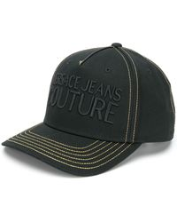 Versace Jeans ロゴ キャップ - ブラック