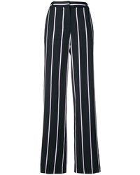 Equipment Striped Palazzo Trousers - Blue