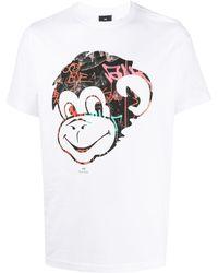 PS by Paul Smith - Monkey プリント Tシャツ - Lyst