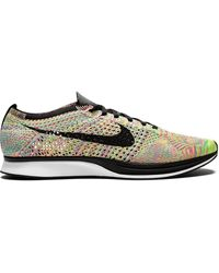 Nike Flyknit Racer Trainers - Multicolour