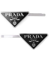 Prada - ヘアクリップセット - Lyst