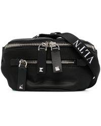 Valentino Garavani Mini Vltn Strap Belt Bag - Black