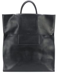 Jil Sander Folded Tote Bag - Black