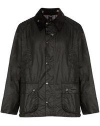 Barbour Bedale ワックスジャケット - ブラック