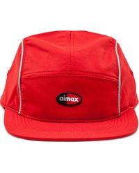 Supreme X Nike 'Air Max Running' Baseballkappe - Rot