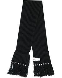 Rossignol Diago Chunky Knit Scarf - Black