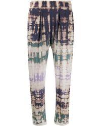Raquel Allegra Tie-dye Sweat Trousers - Multicolour