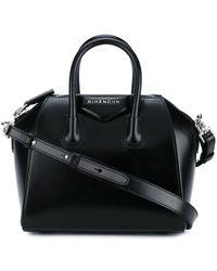 Givenchy Мини Сумка-тоут 'antigona' - Черный