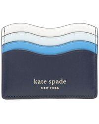 Kate Spade Wave カードケース - ブラック