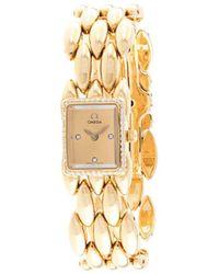 Omega Sapphette ダイヤモンド 腕時計 - メタリック