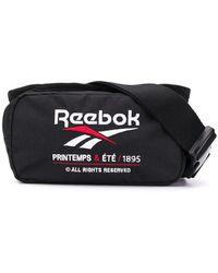 Reebok Embroidered Logo Belt Bag - Black