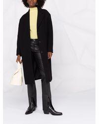 Filippa K Abbey ウールコート - ブラック